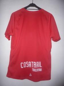 Tee-Shirt dos officiel - Cosatrail