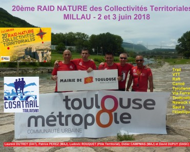 Raid des Collectivités Territoriales de Millau 2018